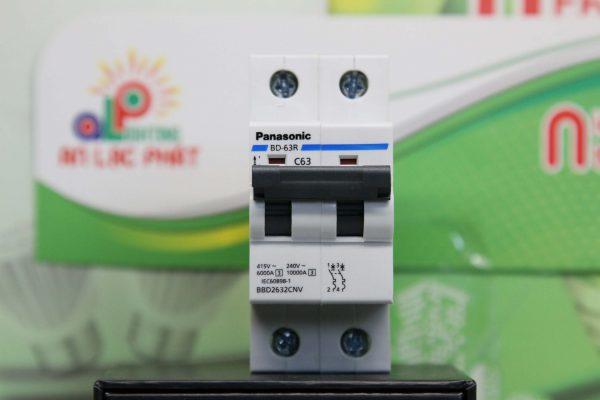 các loại MCB 2 pha Panasonic ngắn mạch