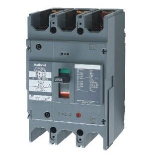 5 loại MCCB 3 pha Panasonic tự động bảo vệ ngắn mạch