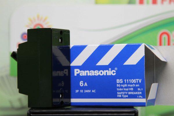 Bộ ngắt mạch an toàn loại hb 2 pha Panasonic 15A 240V AC