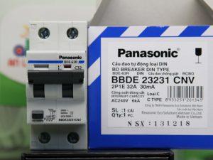 8 loại RCBO 2 pha Panasonic BBDE 23231CNV bảo vệ quá tải
