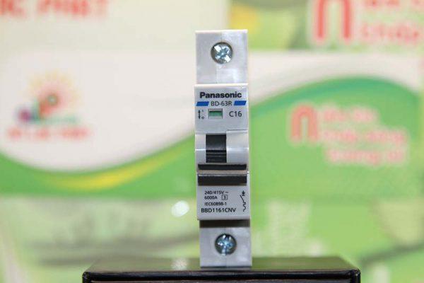 MCB Panasonic 1 pha tự động bảo vệ quá tải