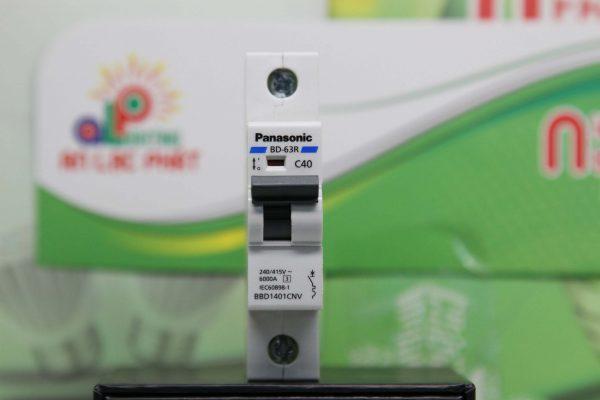 MCB Panasonic 1 pha có 11 loại bảo vệ mạch điện gia đình bạn