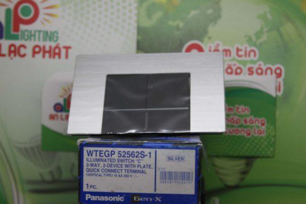 Bộ 2 công tắc có đèn báo WTEGP52562S - 1 - G Panasonic bán tại An Lạc Phát