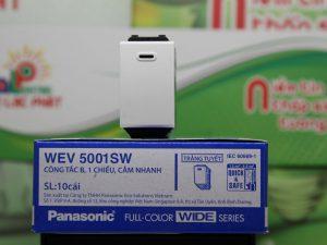 Công tắc 1 chiều Panasonic WEV5001SW/WEV5001-7SW