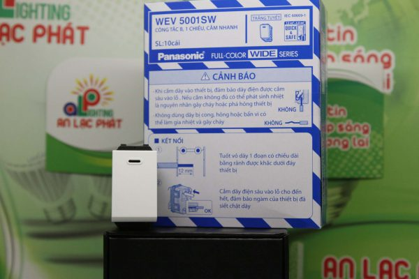 Công tắc 1 chiều WEV5001SW Panasonic