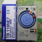 Công tắc đồng hồ của hãng Panasonic TB118 có 6 chế độ cài giờ