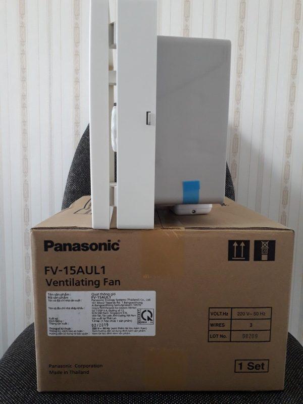 Hình ảnh thật mặt bên của quạt hút gắn tường Panasonic FV-15AUL1