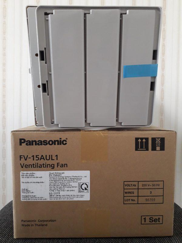 Hình ảnh thật mặt sau của quạt hút gắn tường Panasonic FV-15AUL1