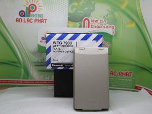 Mặt 3 thiết bị có nắp che mưa WEG7903 Panasonic