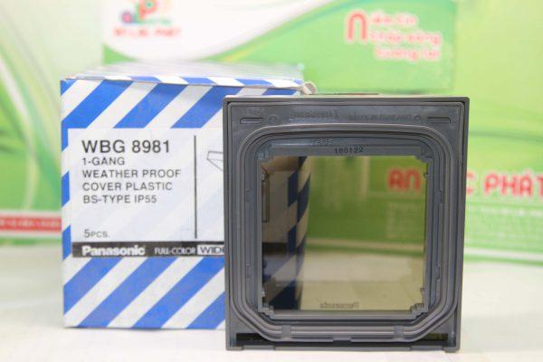 mặt có nắp che mưa chuẩn BS WBG8981 Panasonic bảo vệ thiết bị tốt