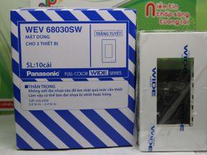 Mặt nạ dùng cho 3 thiết bị Panasonic WEV68030SW tiện lợi