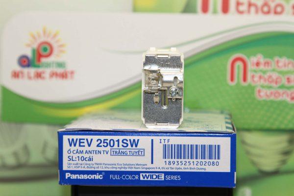 Ổ cắm anten tivi WEV2501SW Panasonic thiết kế độc đáo