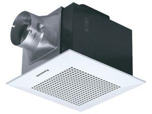 Quạt hút âm trần Panasonic 1 cấp tốc độ dùng cho phòng ngủ, phòng khách, văn phòng