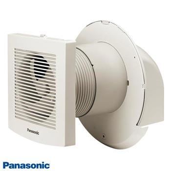 2 loại Quạt hút gắn tường Panasonic sử dụng cho nhà tắm có nắp che mưa FV-10EGK