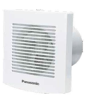 2 loại Quạt hút Panasonic sử dụng cho nhà tắm có nắp che mưa, chống nước, côn trùng