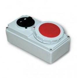 3 loại ổ cắm công nghiệp kèm công tắc Panasonic F61132-6 IP67