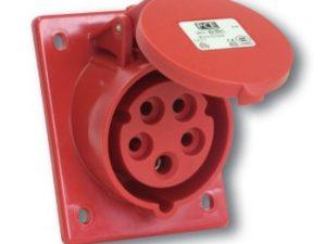 6 loại ổ cắm âm loại không kín nước dạng nghiêng Panasonic F413-6
