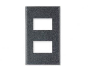 Mặt dùng cho 2 thiết bị Panasonic WEG68020MB thiết kế riêng biệt