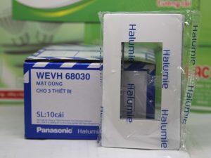 Mặt nạ cho 3 thiết bị Panasonic WEVH68030 bền bỉ