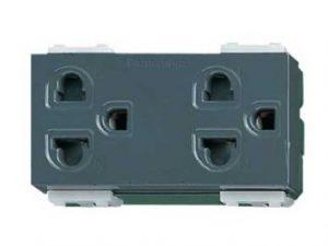 Ổ cắm đôi Panasonic WEV1582H/WEV1582-7H an toàn khi dùng