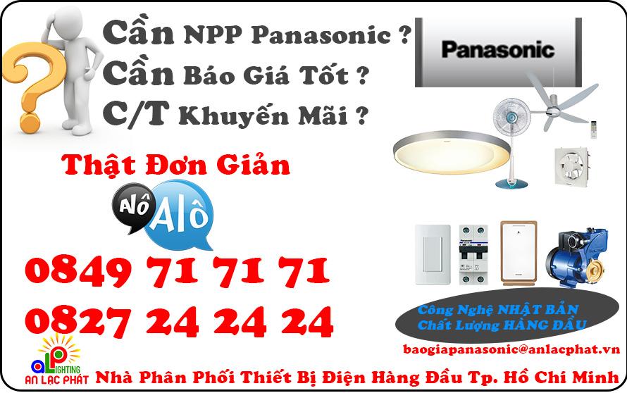 An Lạc Phát - Nhà phân phối chính hãng các sản phẩm điện Panasonic