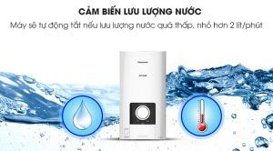 Máy nước nóng Panasonic có cảm biến lưu lượng nước