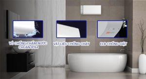 Tính năng an toàn điện của máy nước nóng Panasonic